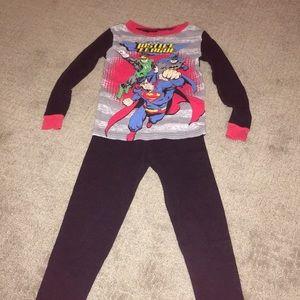Boys Justice League 2-Piece PJs